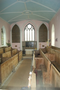 Teigh church interior