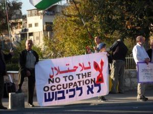 Sheikh Jarrah vigil, November 30. 2012
