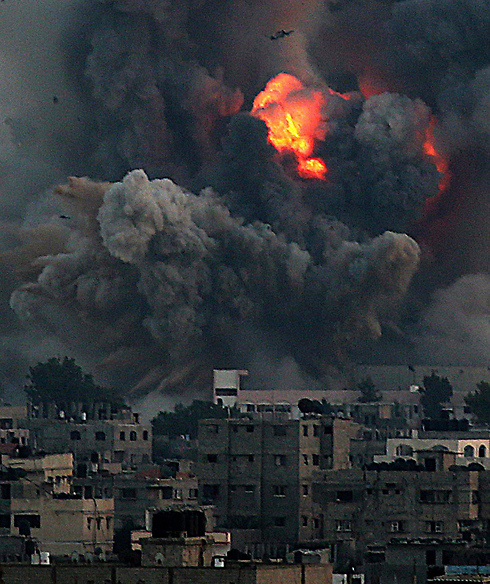 IAF strike on Gaza (Photo: EPA)